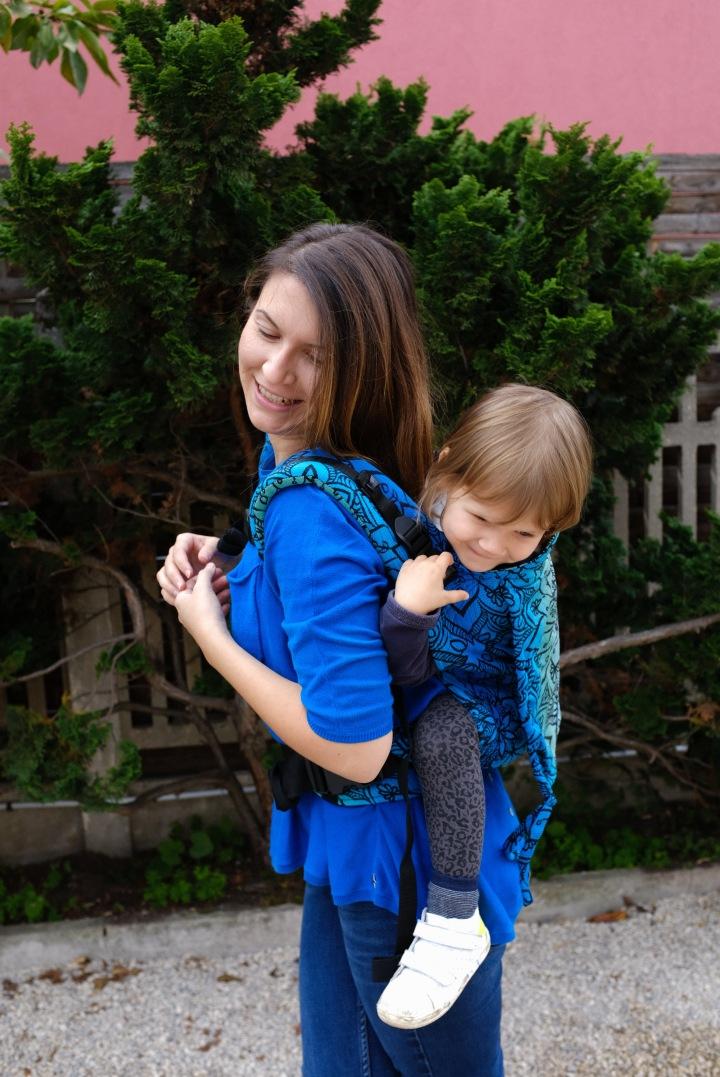 Test et Avis sur le porte-bébé Lenka Toddler de BeLenka