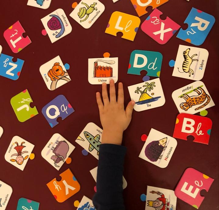 Learn & Play : apprendre en s'amusant avec un bambin de 2 à 4ans