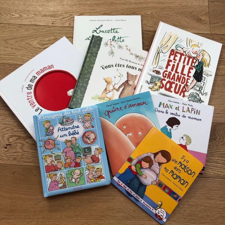 Sélection de livres pour accueillir un petit frère ou une petitesœur